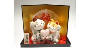 Couple Lucky Cat